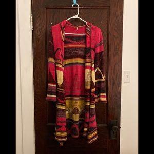 Free People Aztec Sweater